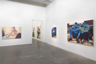 """""""Jordan Casteel: Within Reach,"""" 2020, at the New Museum, New York"""