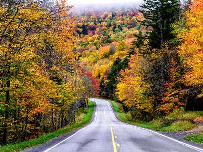 West Virginia leaf peeping