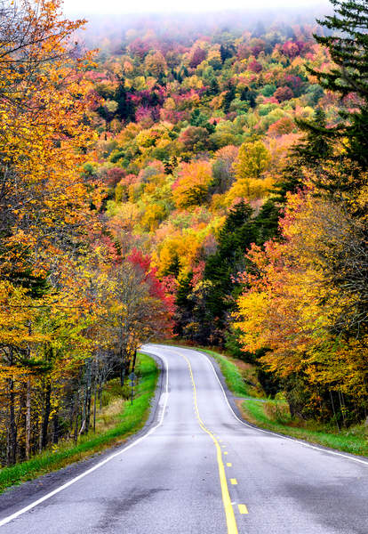 West Virginia leaf peeping
