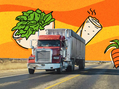 vegan truck drivers truckers eat on the road