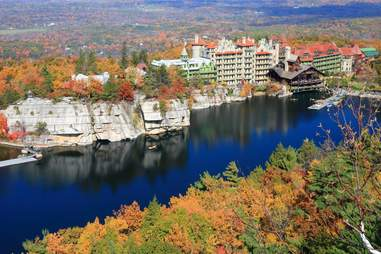 Mohonk Preserve, New York in the fall