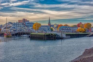 Salem, Massachusetts in the fall