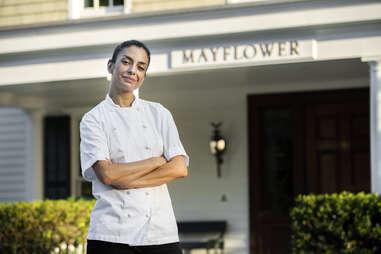 Victoria Blamey of the Mayflower Inn