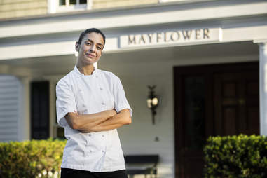Victoria Blamey of the Mayflower Inn