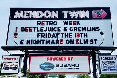 Mendon Twin Drive-In