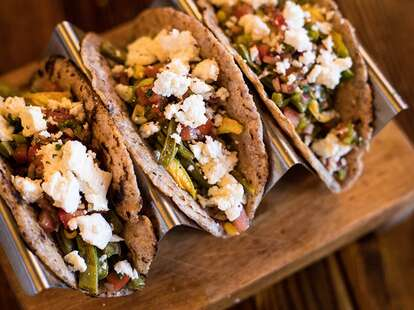 tacos from La Dama Mexican Kitchen
