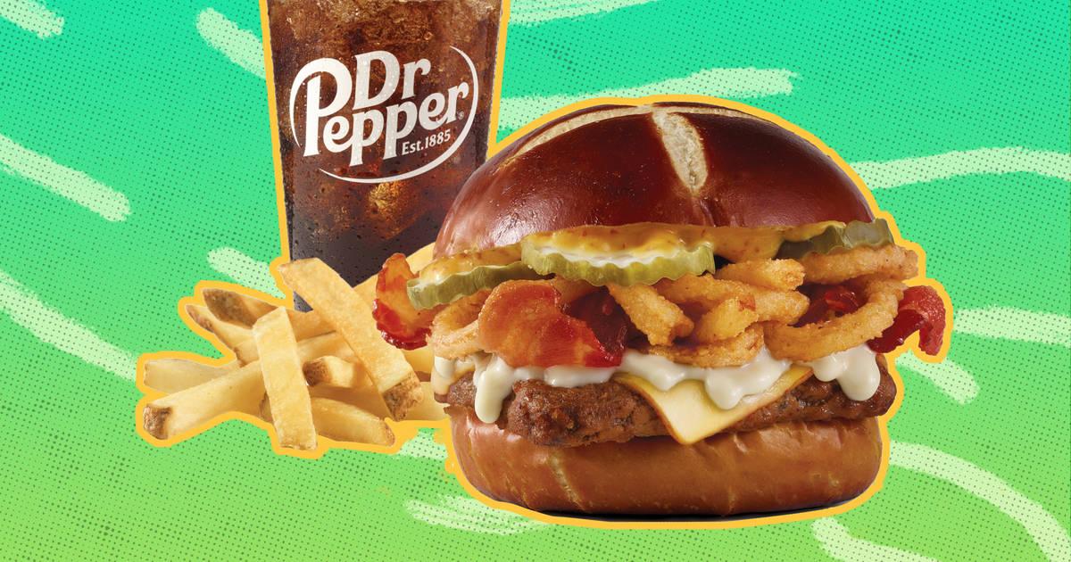 Wendy S Pretzel Bacon Cheeseburger How Does The New Burger Taste Thrillist