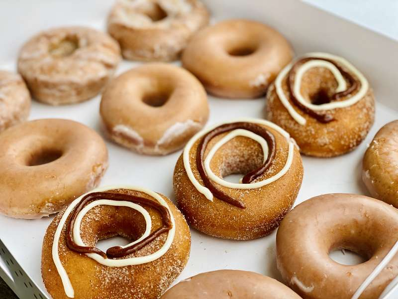 We Tried All 4 of Krispy Kreme's Pumpkin Spice Donuts. This One's the Best.
