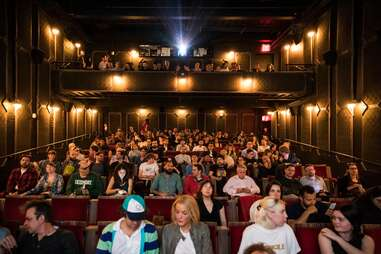 The Metrograph theater on Ludlow Street