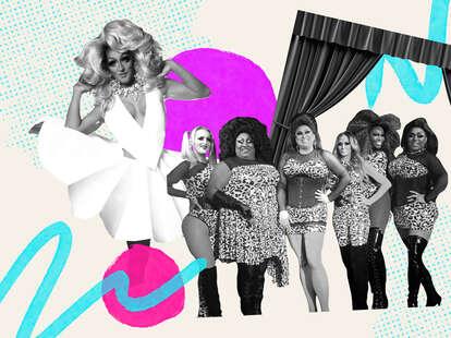 Dallas drag scene collage