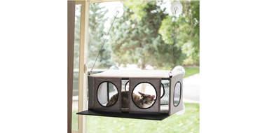 Penthouse Cat Window Perch