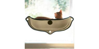 Cat perch window bowl