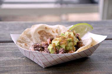 taco from Valentina's Tex-Mex BBQ