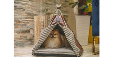 etsy teepee dog house