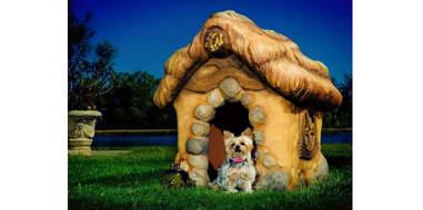 etsy storybook dog house