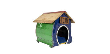 etsy cartoon dog house