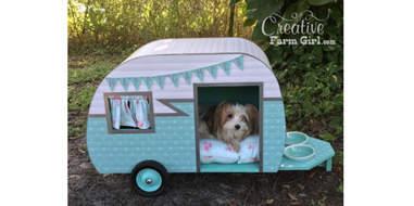etsy dog house camper