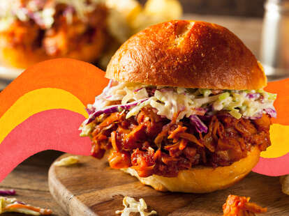 jackfruit bbq sandwiches recipe for dinner and lunch