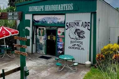 Skunkape Headquarters