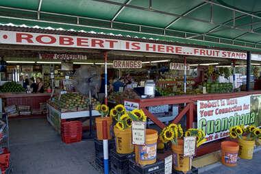 Robert is here... Fruit Stand