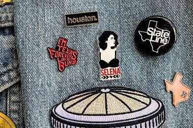 state line designs denim jacket pins