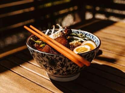 Lat14 Asian Eatery bowl