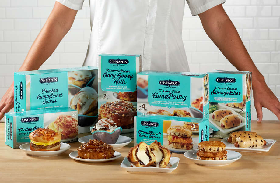 Cinnabon Launches Fried Chicken Biscuits & Other Frozen Breakfasts