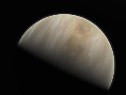 signs of alien life on Venus