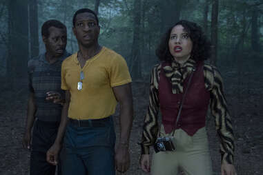 jonathan majors and journee smollett in lovecraft country