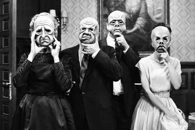 the masks episode of the twilight zone
