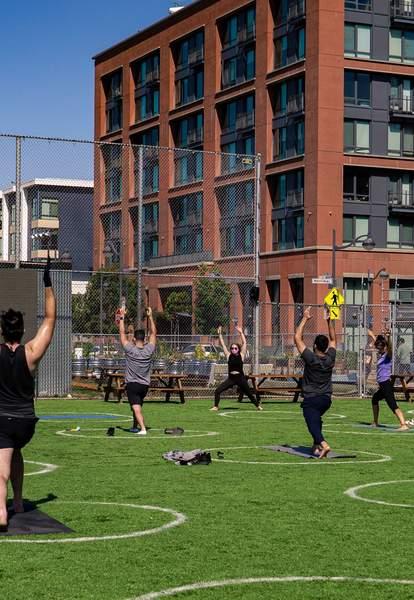 Spark Social SF yoga