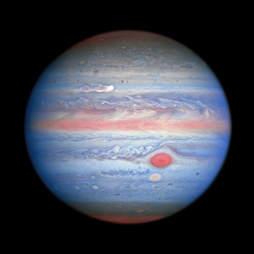 Jupiter image hubble nasa