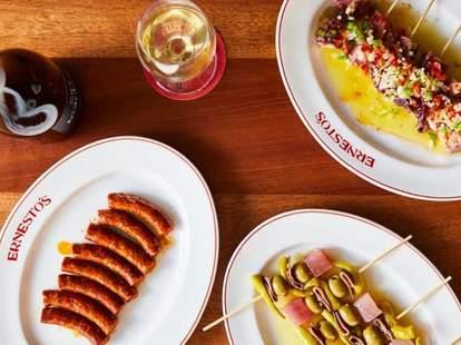 ernesto's food spread