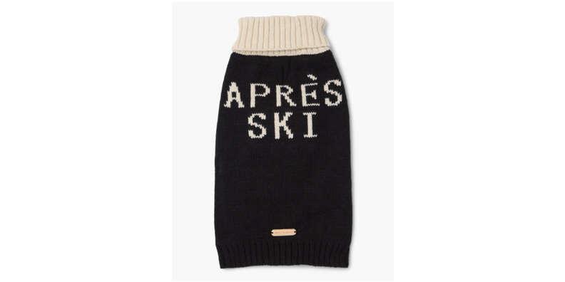 Après Ski Knit Dog sweater
