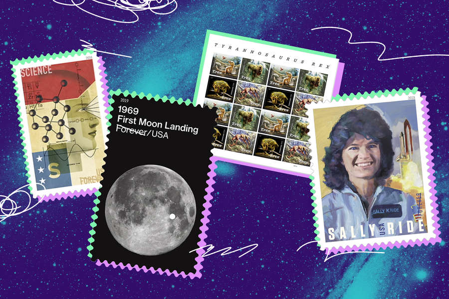 Here Are All the USPS Space-Themed Stamps for Your Quarantine Correspondence