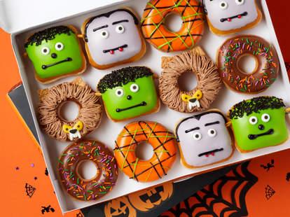 Krispy Kreme Halloween Doughnuts 2020 Flavors Krispy Kreme Halloween Deal 2020: How to Get An Extra Dozen Donuts