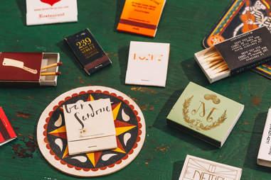 restaurant matchbooks