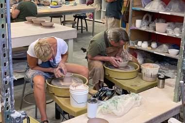 Austin Pottery class