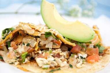 Veracruz All Natural breakfast tacos