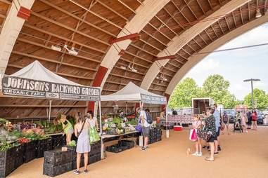 Johnson's Backyard Garden farmers market