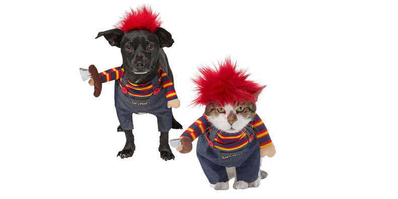 Killer Doll dog costumes
