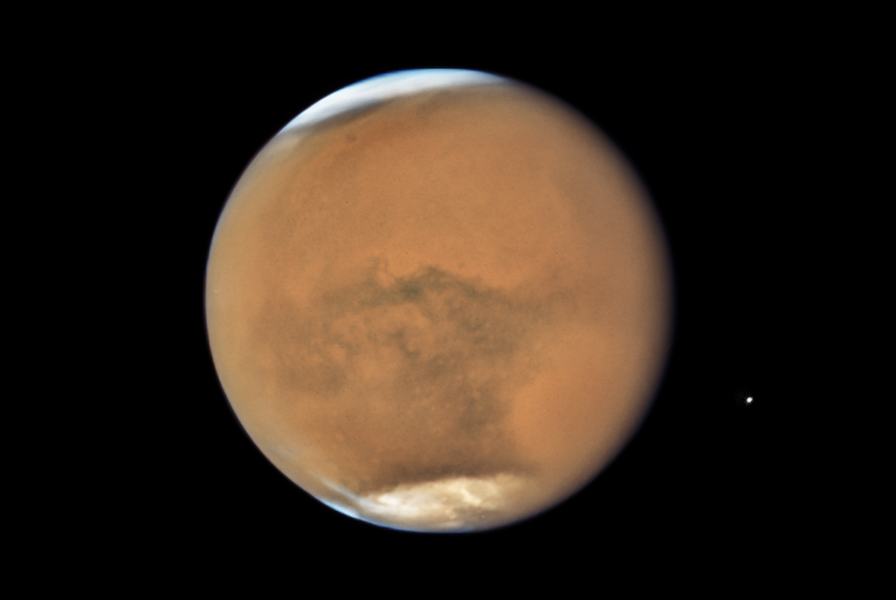 Mars Is Brighter Tonight Than It Will Be Any Other Night This Year