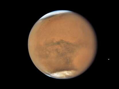 Mars at opposition October