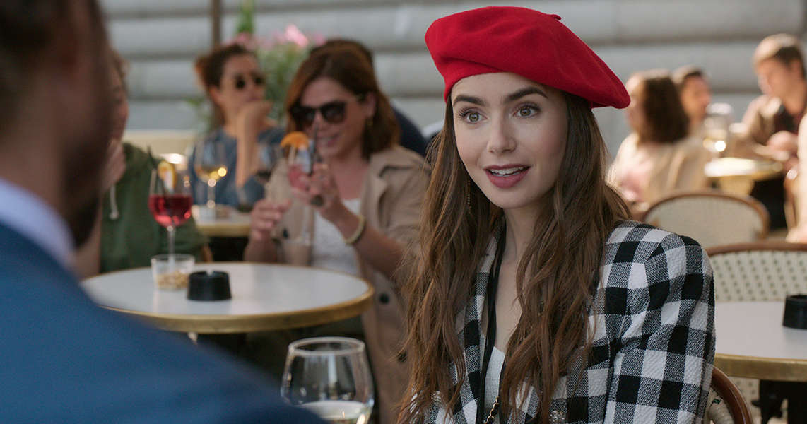 Netflix's 'Emily in Paris' Is So Dumb That It's Actually Kind of Good