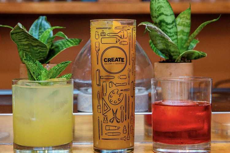 Create Gallery & Cocktails