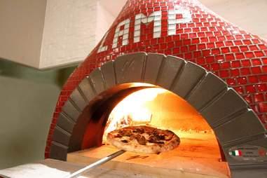 Lamp Wood Oven Pizzeria