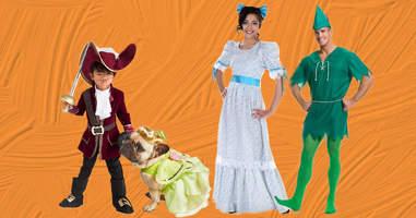 Neverland family Halloween Costumes