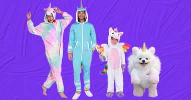 Unicorn Family Halloween Costumes