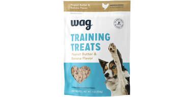 wag training treats peanut butter flavor