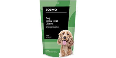 solimo hip and joint chews for dogs